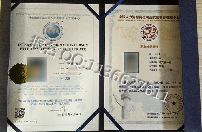 IIAA高级证书